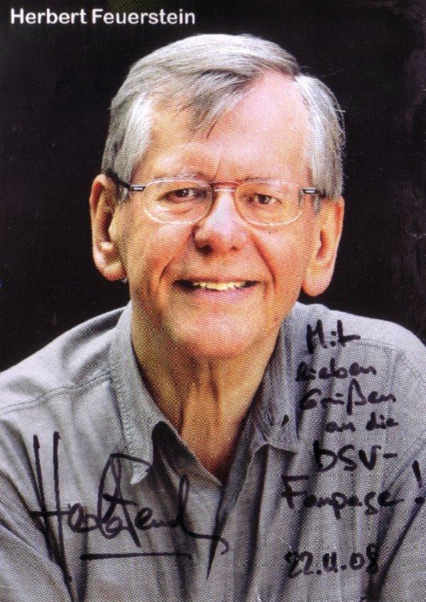Autogramm MAD-Red. Herbert Feuerstein