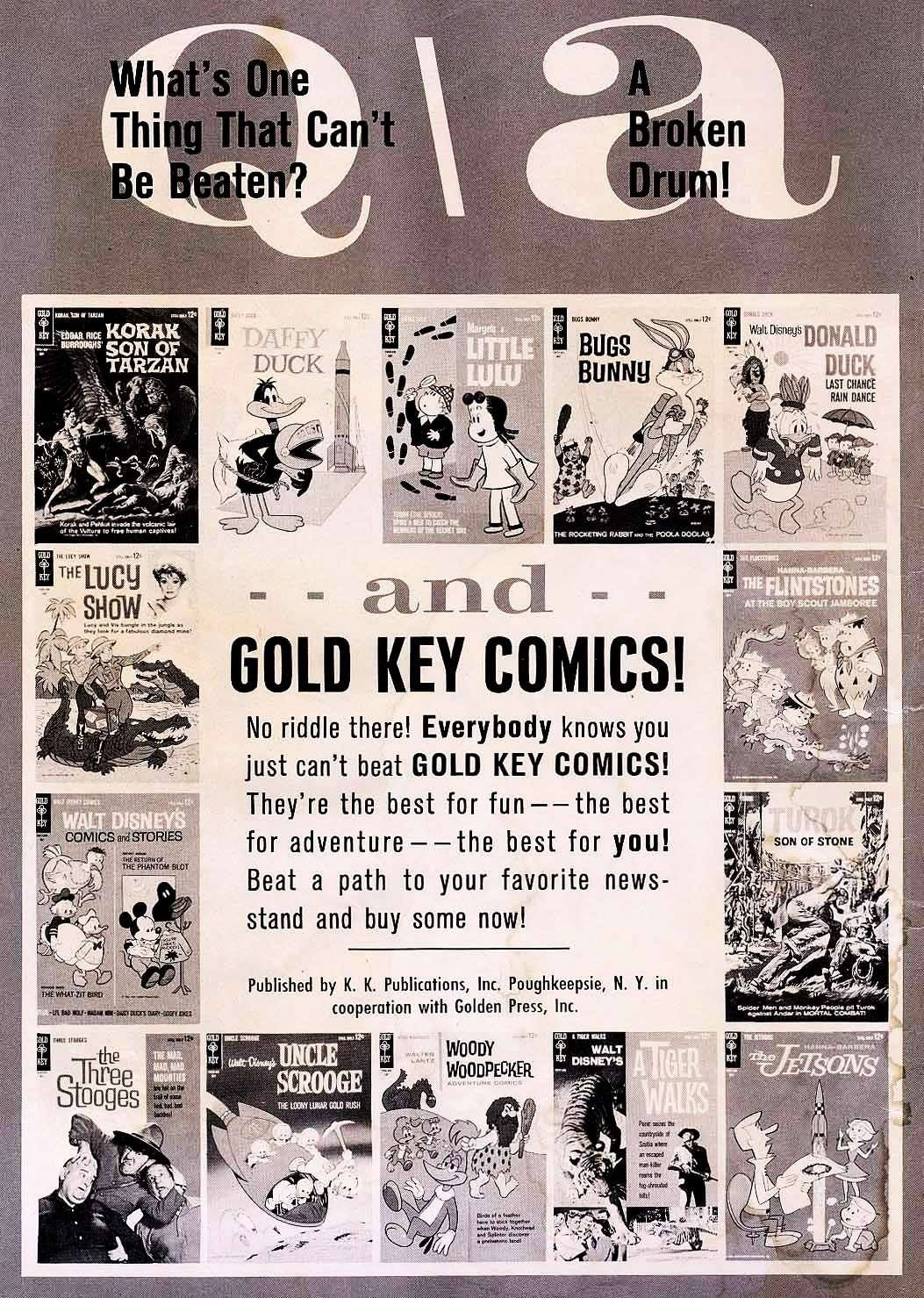 Anzeige in Tarzan (Gold Key) # 142