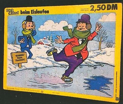 Dick & Doof - Puzzle bsv 1972