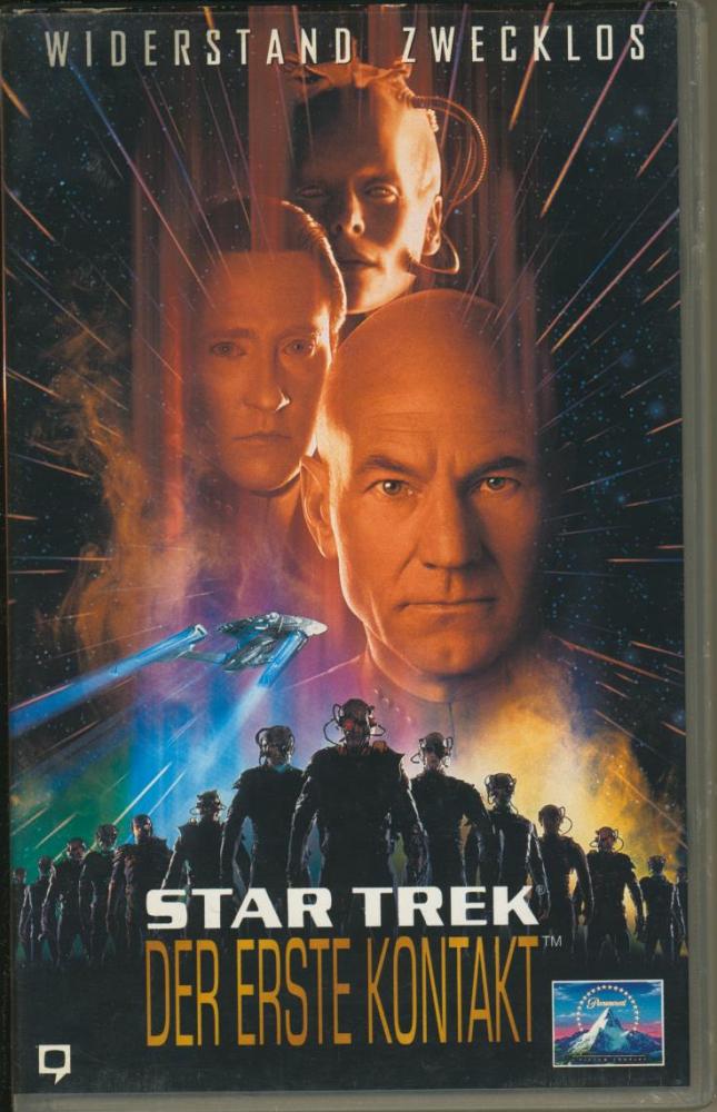 Star Trek - Der Erste Kontakt (VHS)