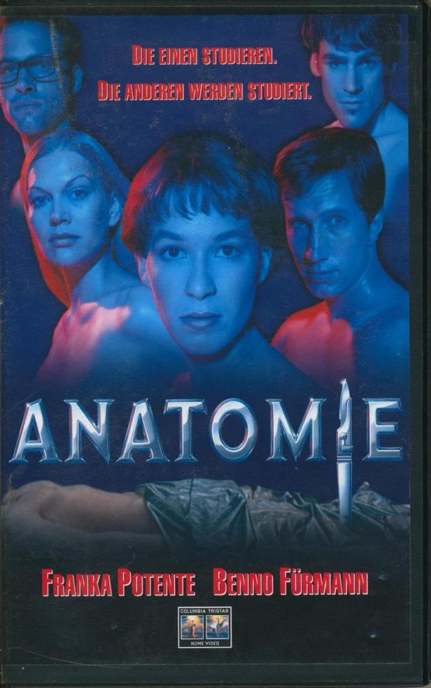 Anatomie (Franka Potente, Benno Führmann, Anna Loos) VHS