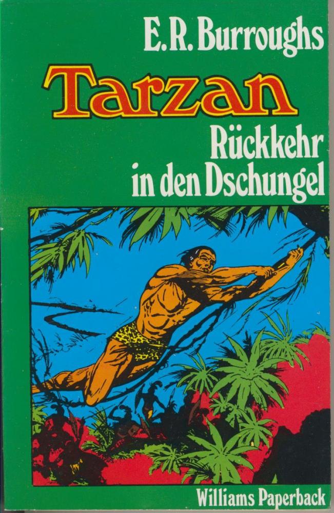 Tarzan 2: Rückkehr in den Dschungel - Edgar Rice Burroughs - Williams Paperback