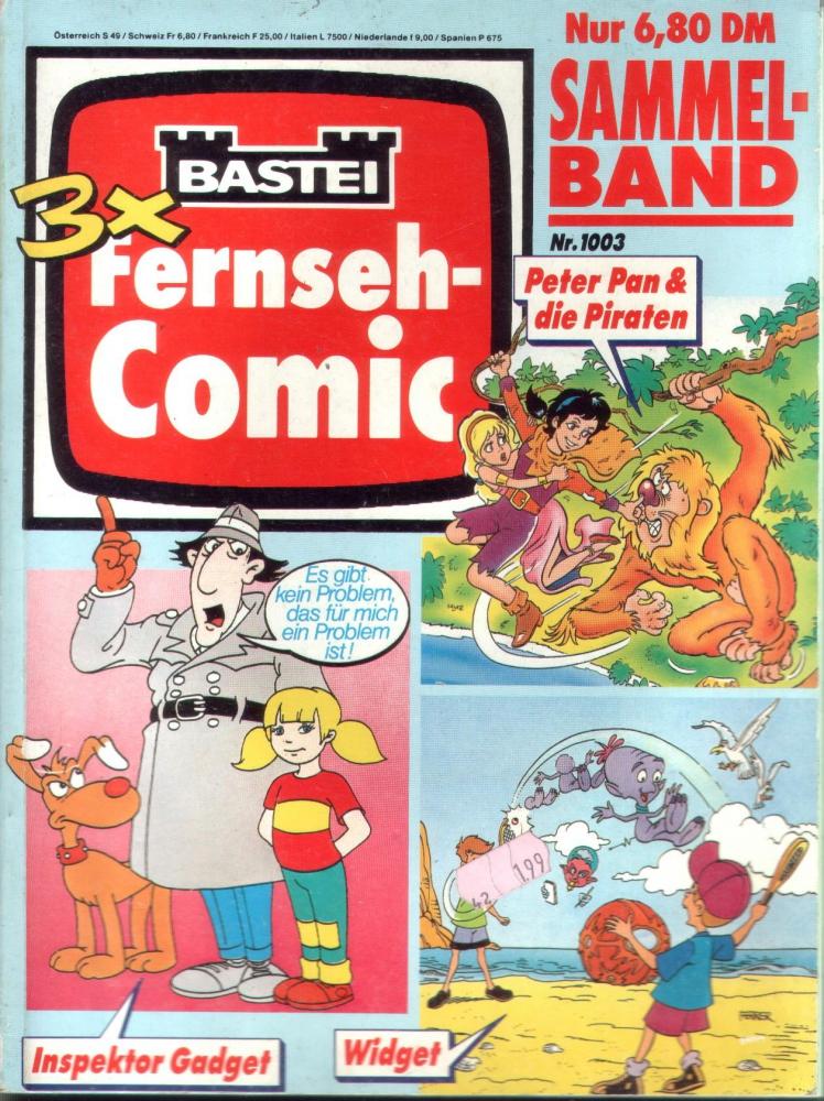 Bastei Fernseh-Comic Sammelband mit 3 Heften (Bastei)