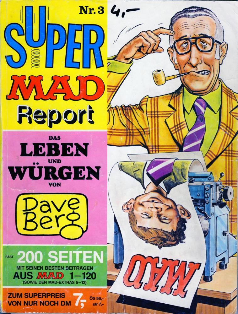 Super MAD Report Nr. 3 - Das Leben und Würgen von Dave Berg