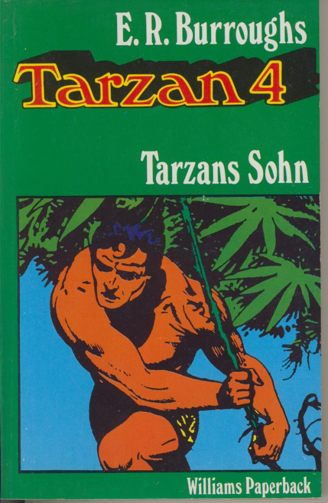Tarzan 4: Tarzans Sohn - Edgar Rice Burroughs - Williams Paperback