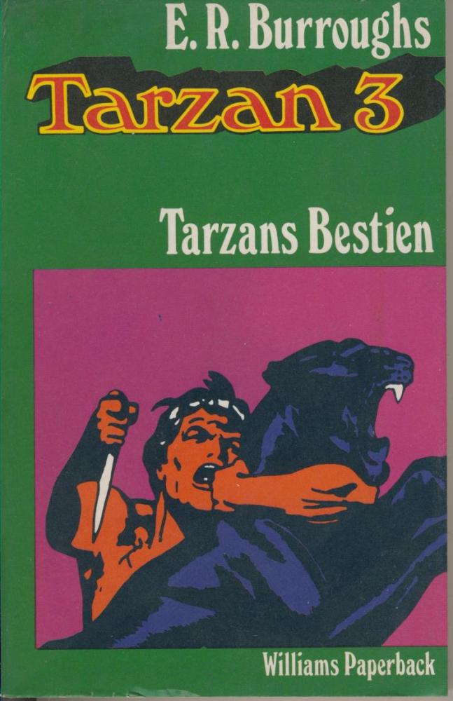Tarzan 3: Tarzans Bestien - Edgar Rice Burroughs - Williams Paperback