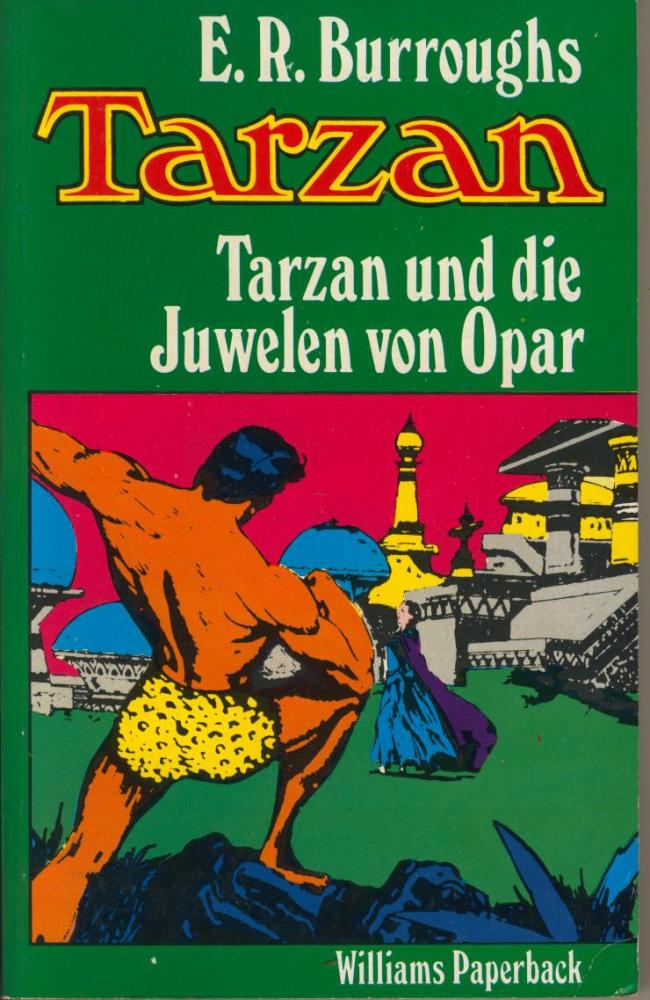 Tarzan 5: Tarzan und die Juwelen von Opar - Edgar Rice Burroughs - Williams Paperback