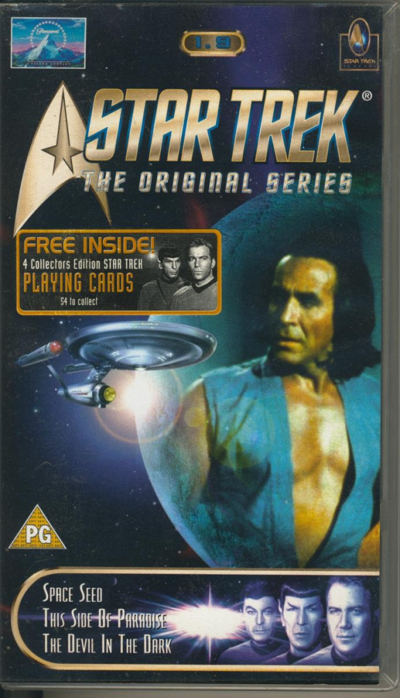 Star Trek - The Original Series 1.9 (VHS) in englisch