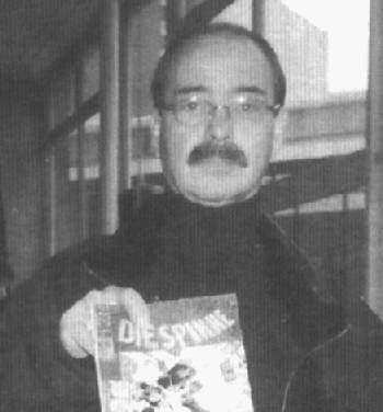 Marvel-Redakteur Reinhard Mordek