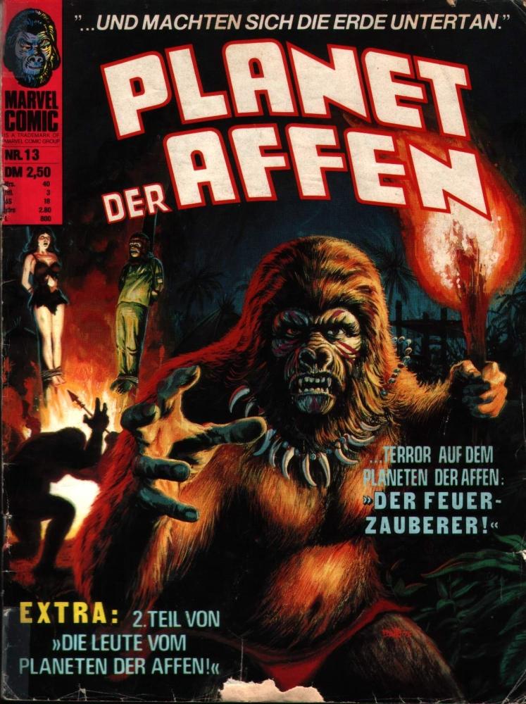 Planet der Affen Nr. 13 Williams Verlag