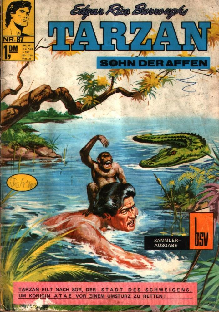 Tarzan 87 Comic-Heft bsv Bildschriftenverlag Z3