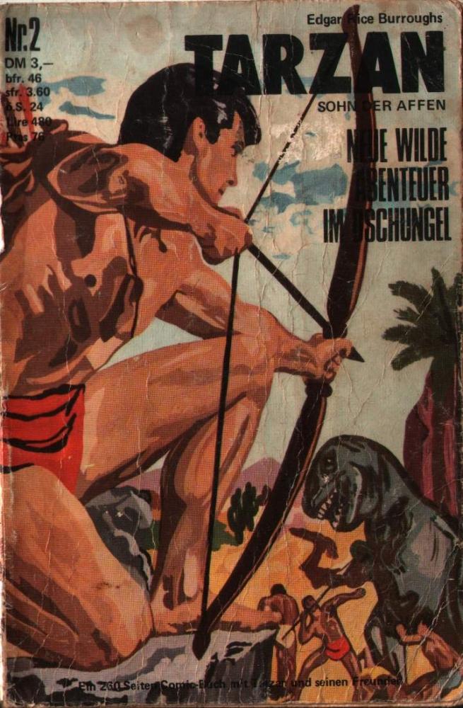 Tarzan Taschenbuch Nr. 2 BSV