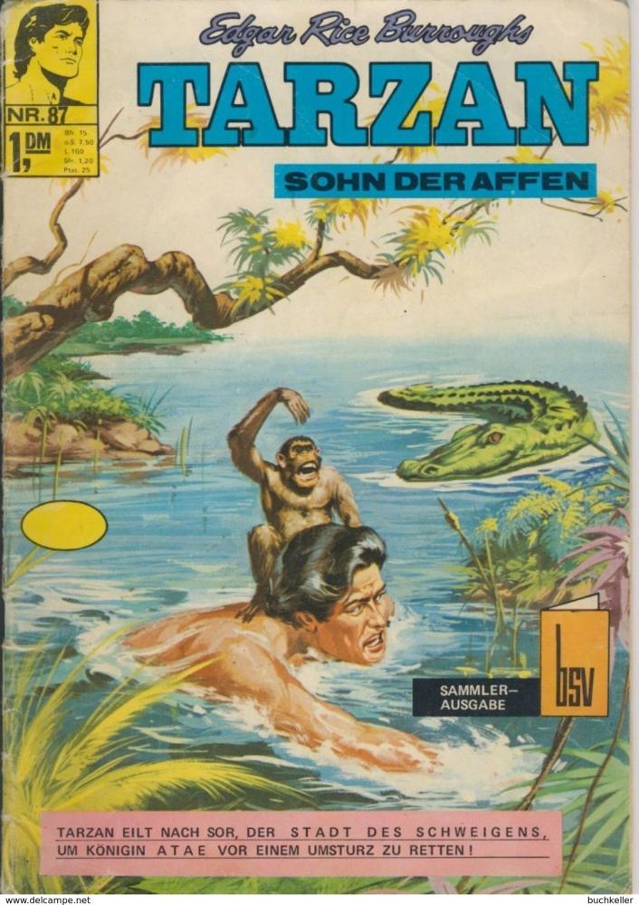 Tarzan 87 Comic-Heft bsv Bildschriftenverlag