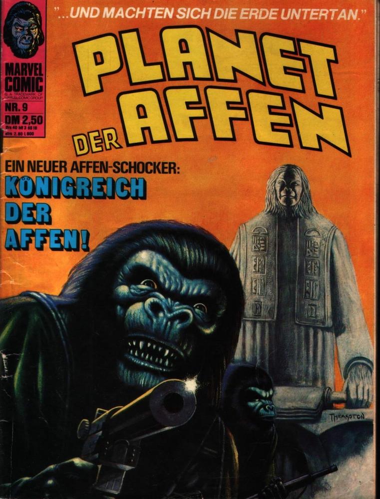 Planet der Affen Nr. 9 Williams Verlag