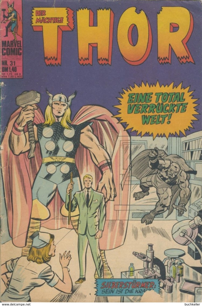 Der mächtige Thor Nr. 31: Eine total verrückte Welt! - Williams Verlag