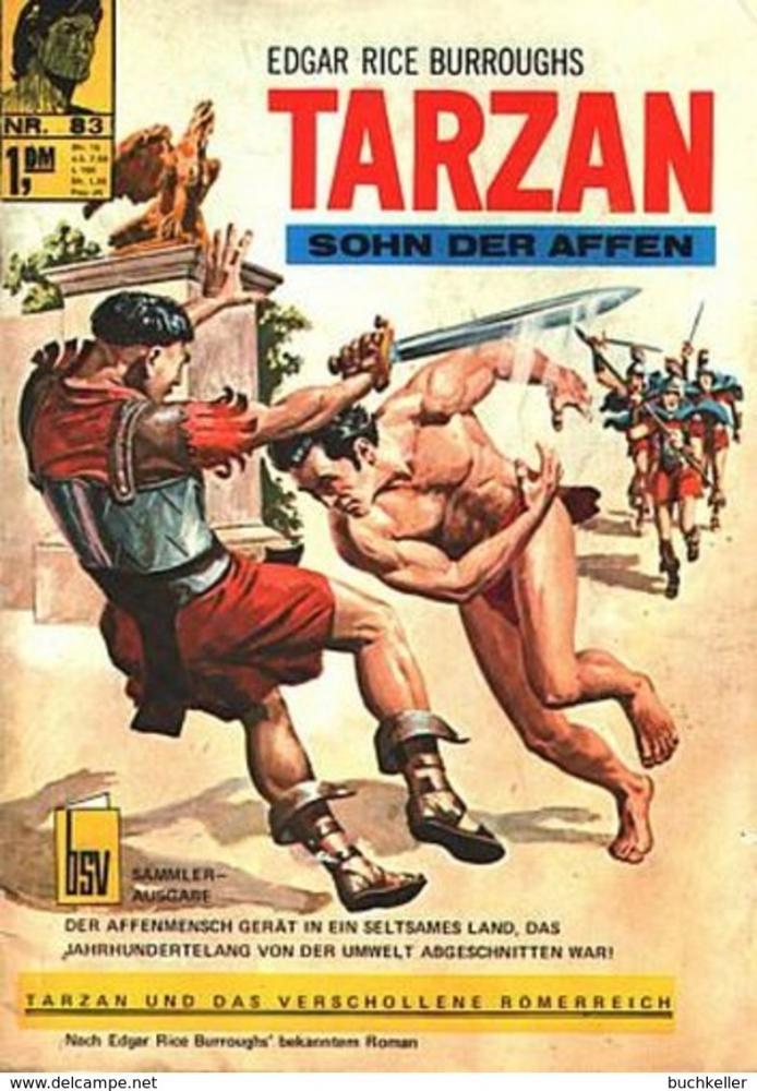 Tarzan 83 Comic-Heft bsv Bildschriftenverlag