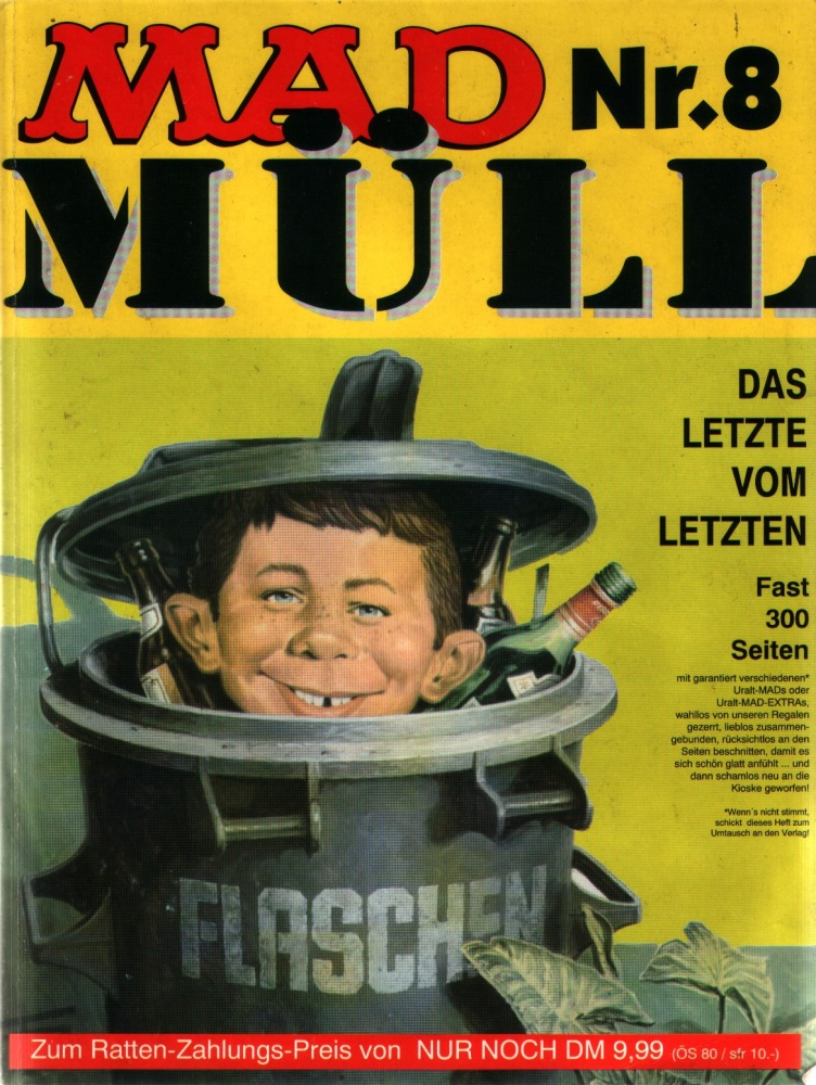 MAD Müll Nr. 8 Sammelband MAD Extra/MAD