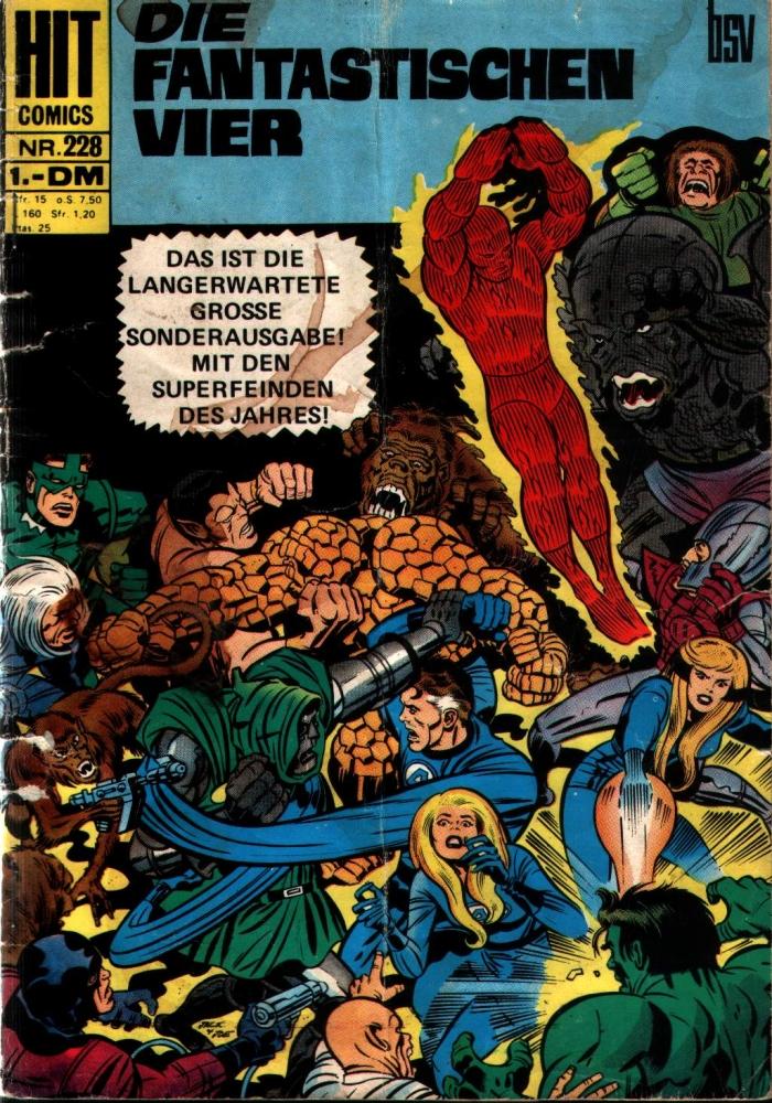 HIT Comics : Die Fantastischen Vier 228 - bsv
