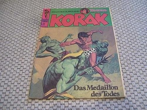 Korak Nr. 94 : Das Medaillon des Todes - Klaus Recht Verlag