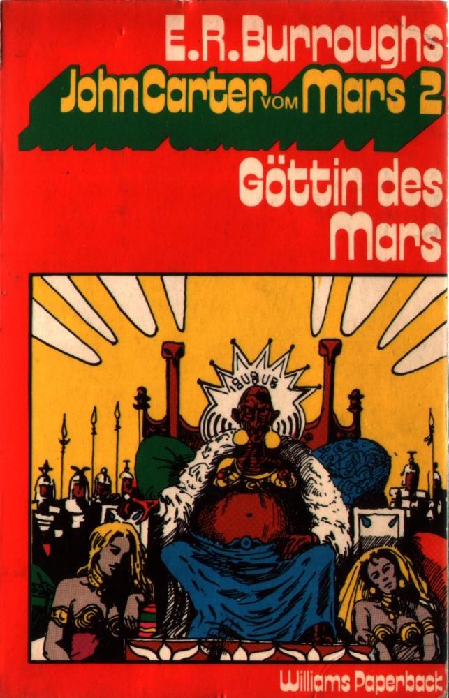 John Carter vom Mars 2 - Göttin des Mars - Williams Verlag