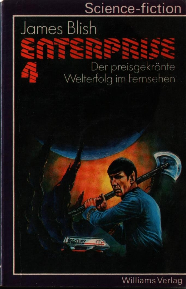 Enterprise 4 Taschenbuch (James Blish) Williams Verlag