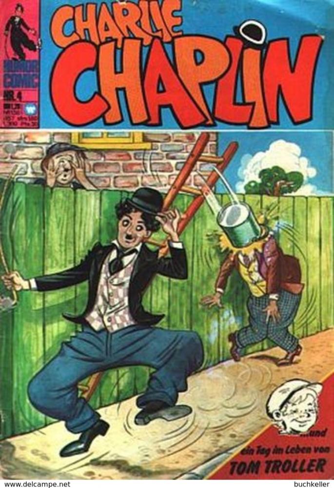 Charlie Chaplin Nr. 4 Comicheft bsv Williams Verlag 1973 gelocht