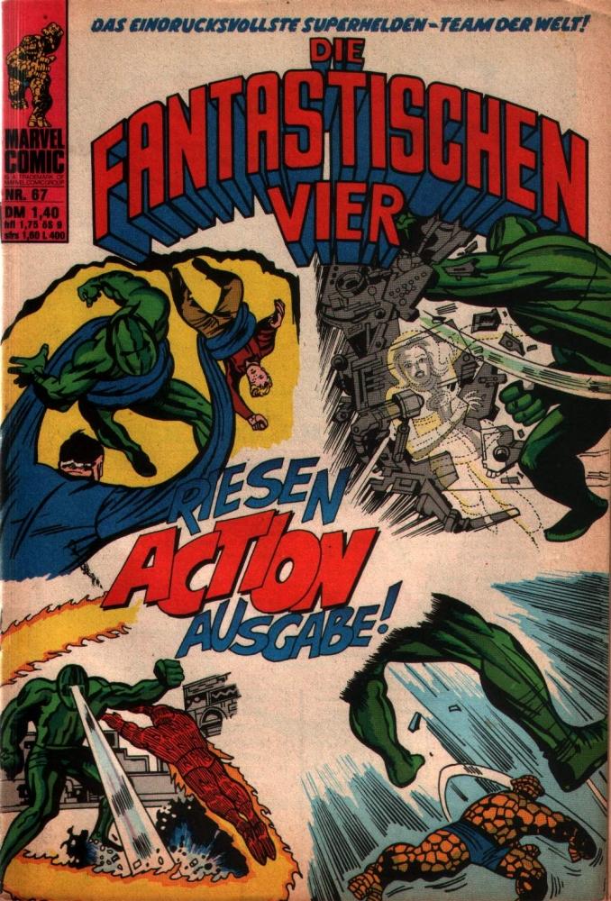 Die Fantastischen Vier 67 Comicheft Williams Verlag Marvel