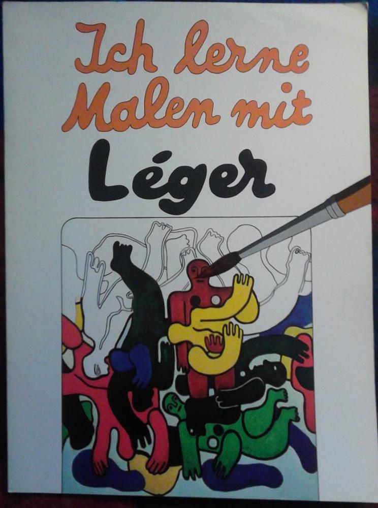 Ich lerne Malen mit Léger - Mal-/Zeichenheft Williams Verlag 1973