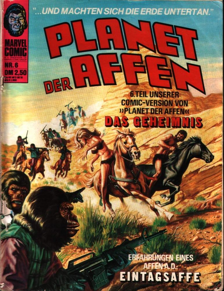 Planet der Affen Nr. 6 Williams Verlag