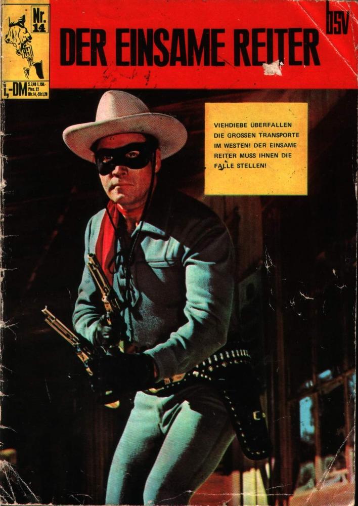 Der Einsame Reiter Nr. 14 BSV (Lone Ranger) Gold Key