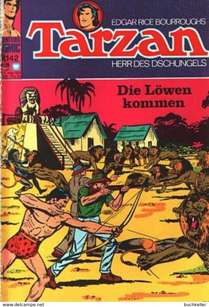 Tarzan 142 Comic-Heft Williams Verlag aus SB