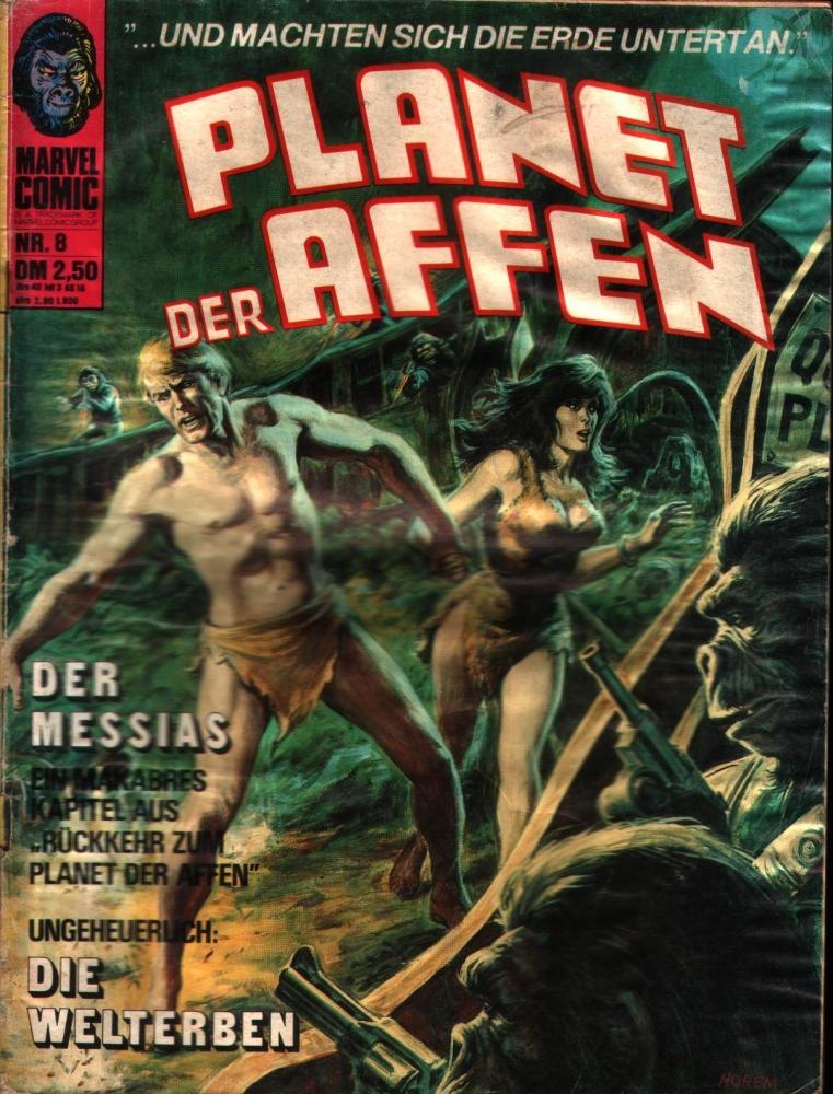 Planet der Affen Nr. 8 Williams Verlag