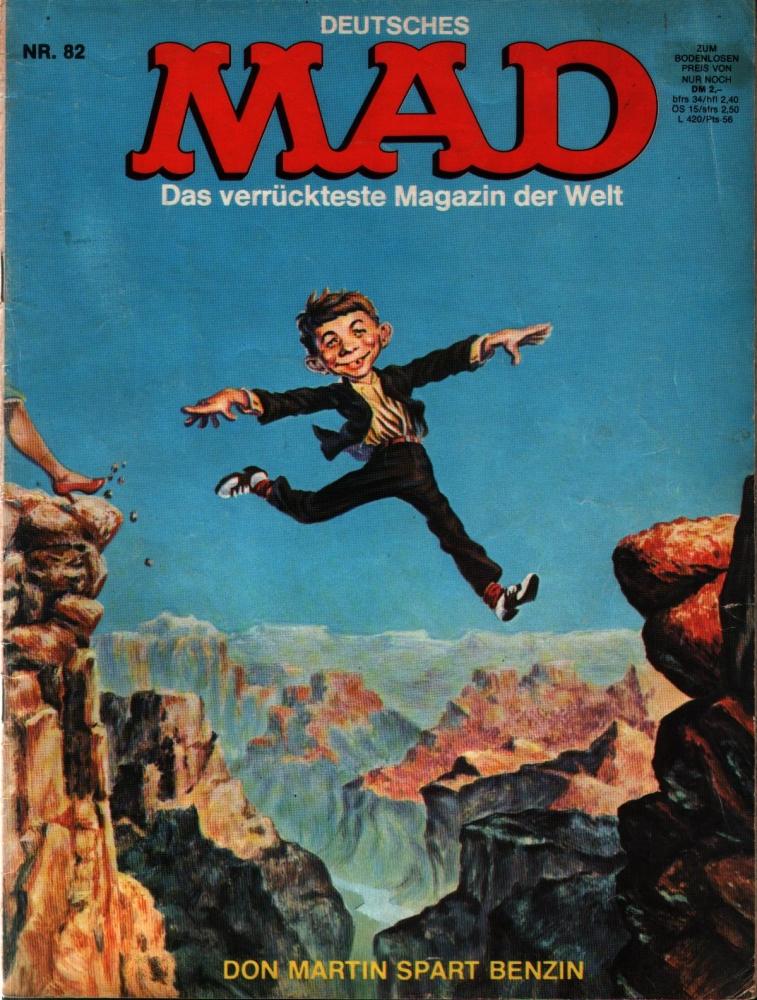 MAD Nr. 82 - das verrückteste Magazin der Welt - Williams Verlag
