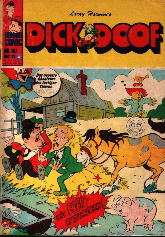 Dick & Doof Nr. 157 Williams Verlag