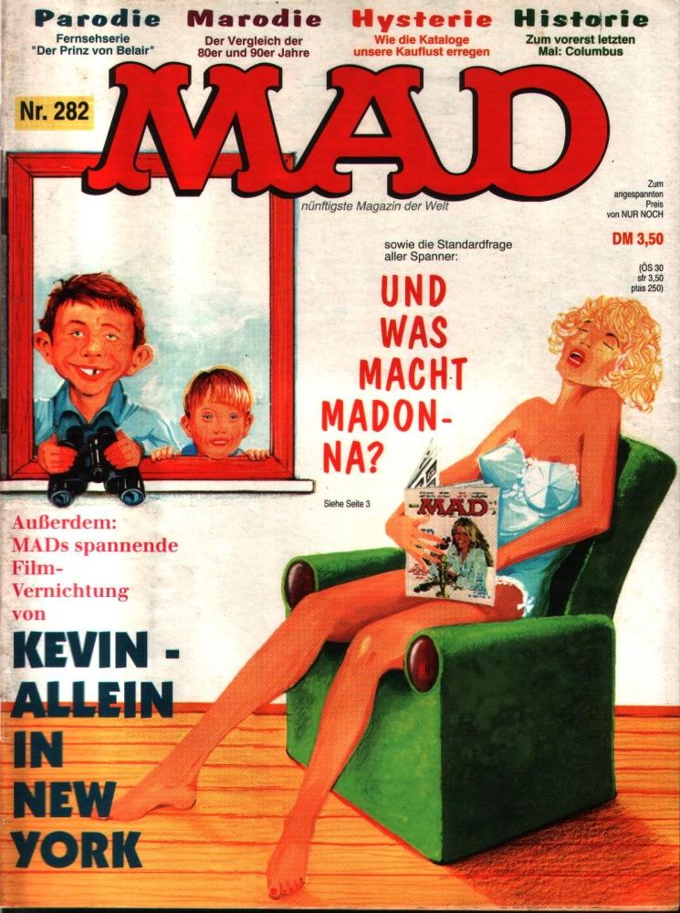 MAD Nr. 282 - das verrückteste Magazin der Welt
