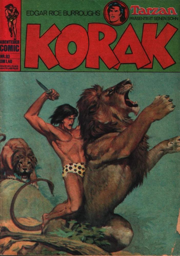 Korak Nr. 93 : Der Löwenmann - Klaus Recht Verlag