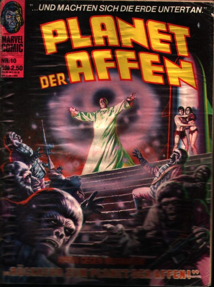 Planet der Affen Nr. 10 Williams Verlag