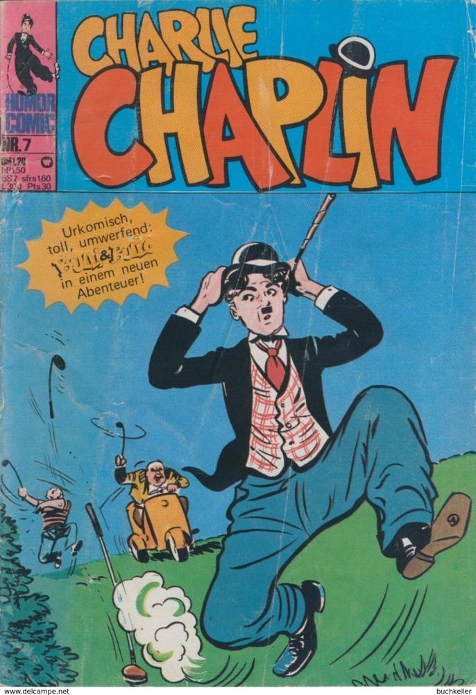 Charlie Chaplin Nr. 7 Comicheft bsv Williams Verlag 1974